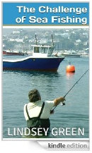 Cover of 'The Challenge of Sea Fishing' (Kindle e-book or available as a paperback)